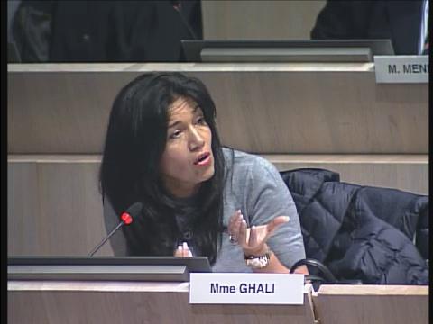 Samia Ghali intervient sur la police de la propreté