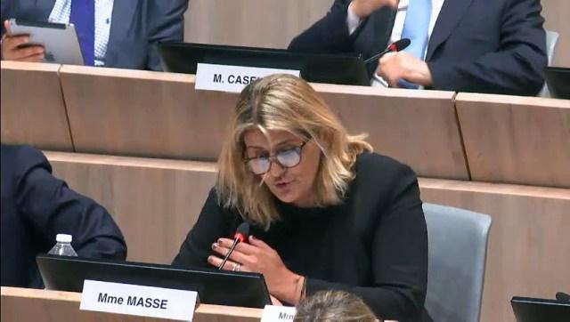 Florence Masse dénonce une politique de sécurité à deux vitesses