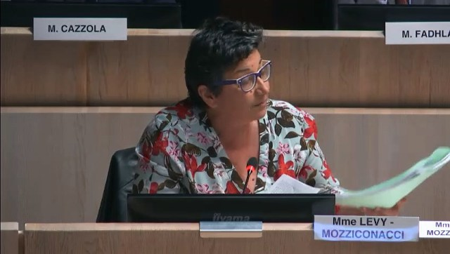 Annie LEVY-MOZZICONACCI demande la requalification du projet d'accès aux goudes