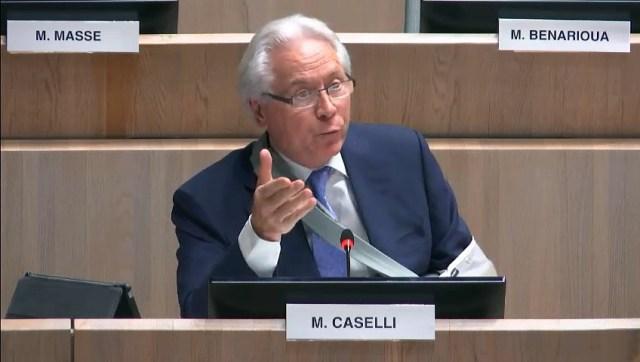 Eugène CASELLI revient sur l'installation de l'ombrière sur le Vieux Port