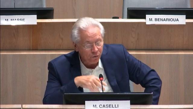 Eugène CASELLI critique la nouvelle charte de la rue de République