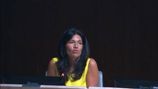 Samia GHALI évoque les combats de chiens dangereux dans les parcs marseillais