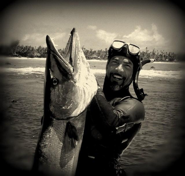Francis Le Gall, souvenir d'une belle pêche