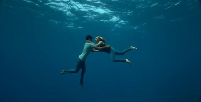 Alice Modolo et Guillaume Nery, rencontre aquatique