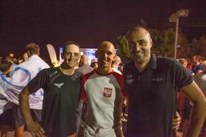 Mateusz Malina, Miguel lozano et william trubridge, trois pointures lors de l'inauguration