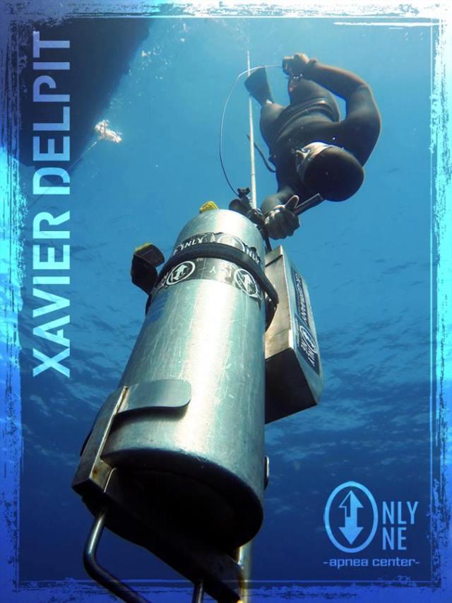 Xavier Delpit, la passion pour le bleu