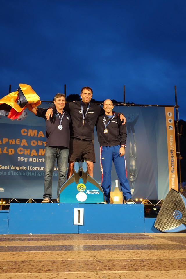 le podium du Jump Blue