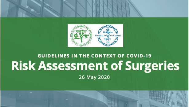 Risk Assessment of Surgeries in the Context of COVID-19