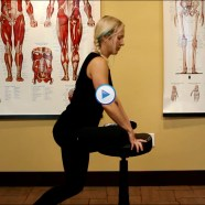 Quick Tip: Do you know how to stretch your glutes with your own seat?