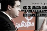 El Senador Socialista Óscar López visitó la Agrupación Socialista de Moraleja de Enmedio