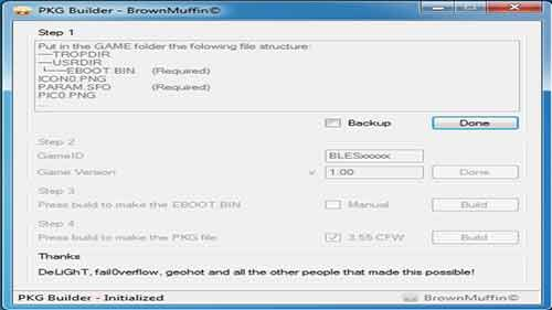 PS3 PKG Builder - Download PKG Builder (PS3 Tools and Utilities) Free