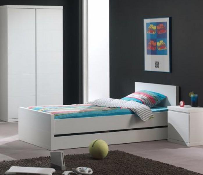 Vipack Bed Lara wit 90x200  PS Slapen
