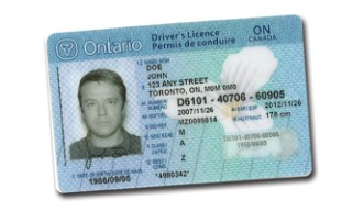 Ontario Drivers Licence