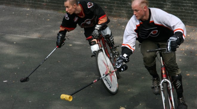 hockeybiking