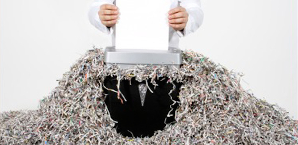 Image result for shredding evidence