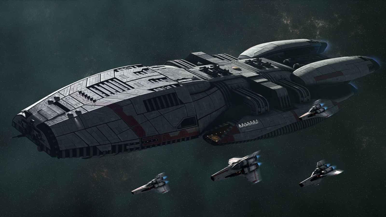 Wallpaper Falling Skies Battlestar Galactica Deadlock Release Date Set For