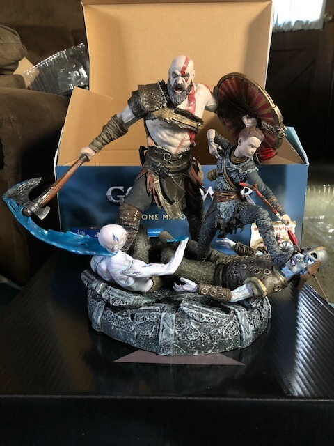 God Of War Ps4 Pro Bundle And Stone Mason Edition Unboxing