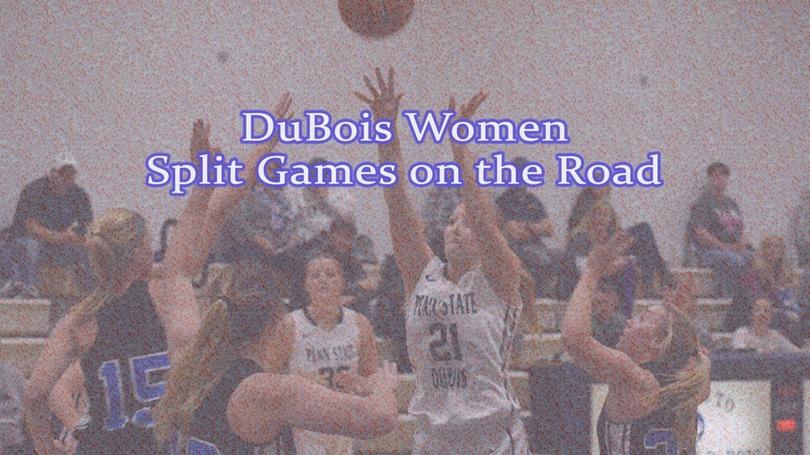 DuBois Women Split On Road