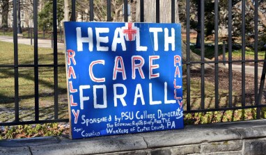 "Centre County Residents to Hold ""24 Hour Vigil to Save Health Care"" Wednesday"