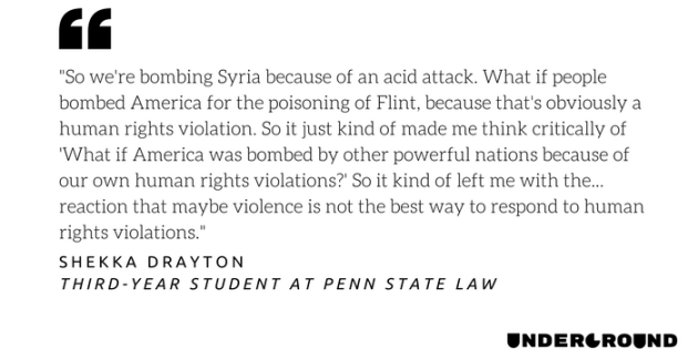 Here's How Penn State Students Are Reacting to Trump's Air Strikes in Syria