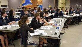 UPUA Holds Last Meeting of Semester, Confirms New Positions and Discusses Future