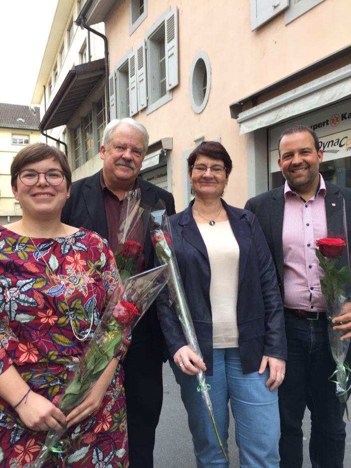 Elus PS - Morges -Grand Conseil 2017