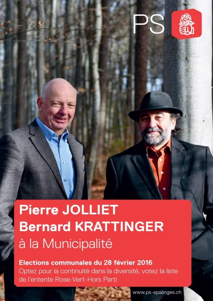 Pierre JOLLIET Bernard KRATTINGER