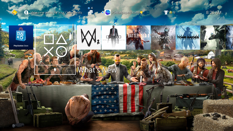 Far Cry 5 Playstation Wallpapers