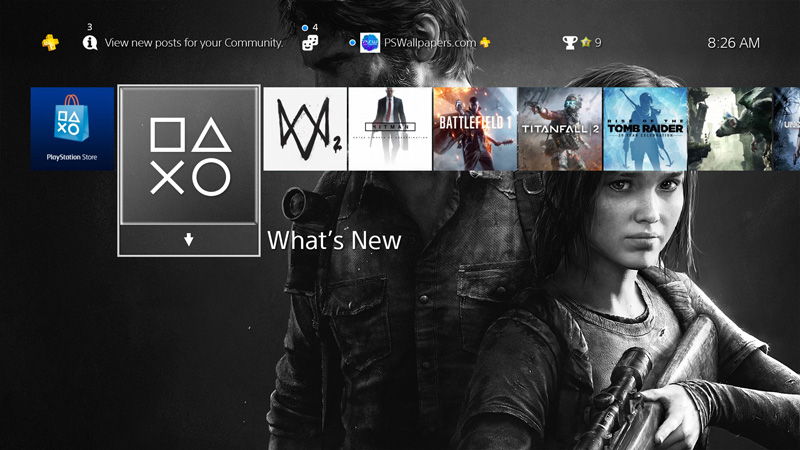 the last of us � ps wallpapers
