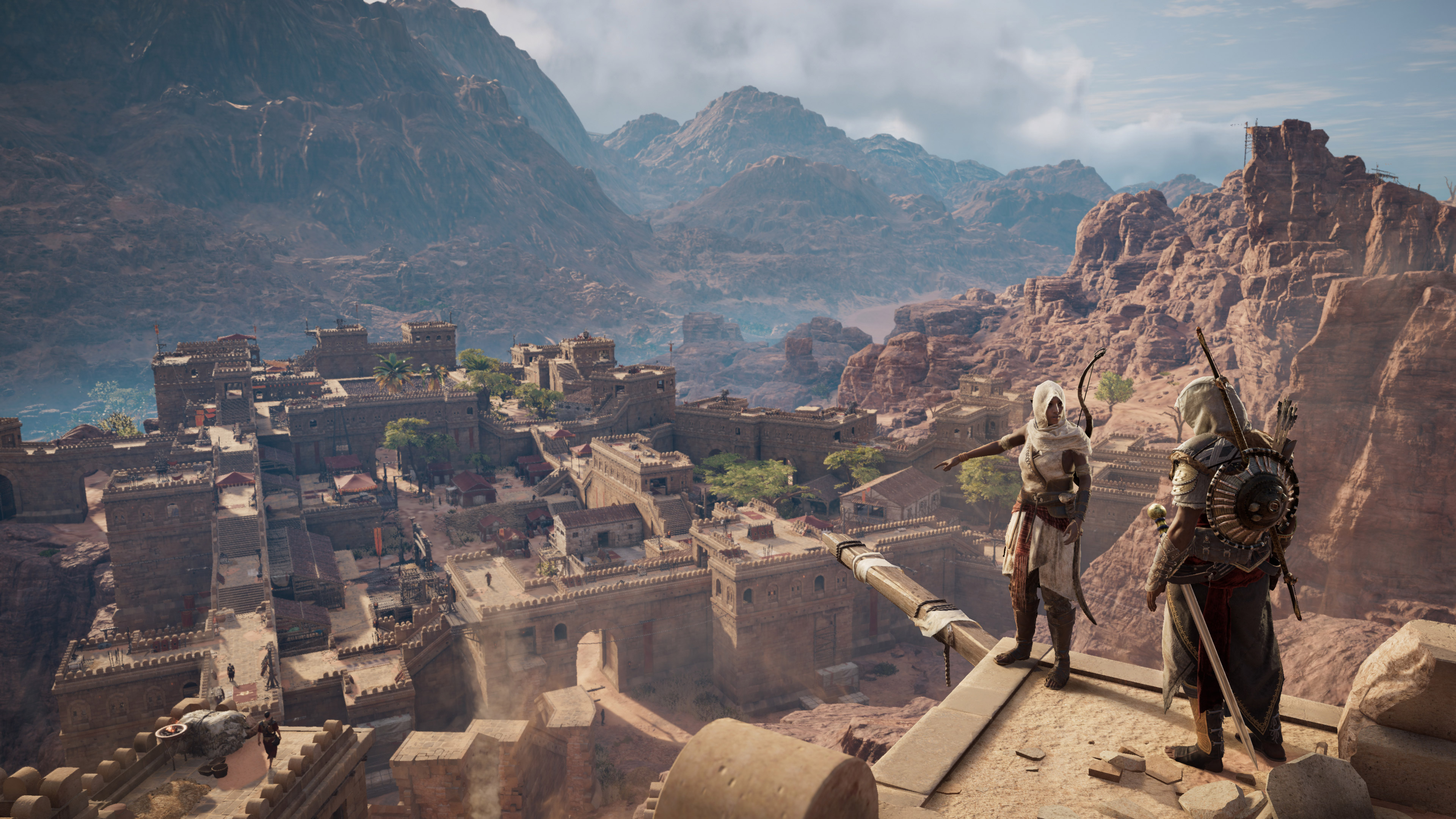 assassin's creed origins – ps wallpapers