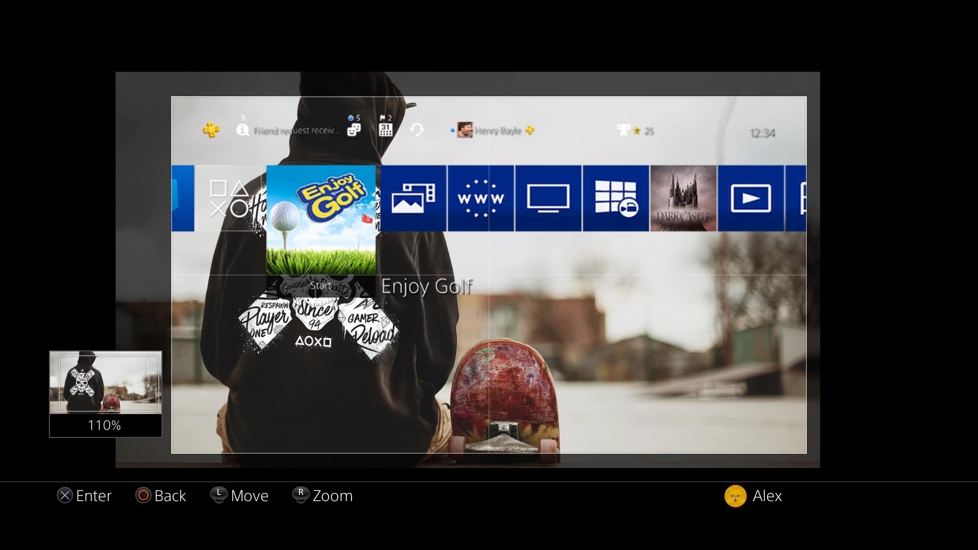import custom playstation 4 wallpapers via usb – ps wallpapers