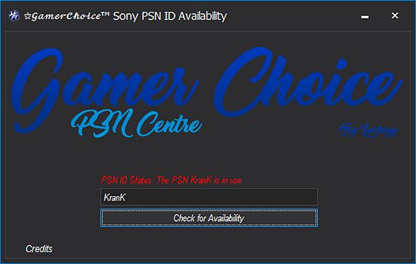 gamer choice sony psn