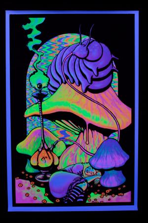 Poster UV  Alice au pays des merveilles