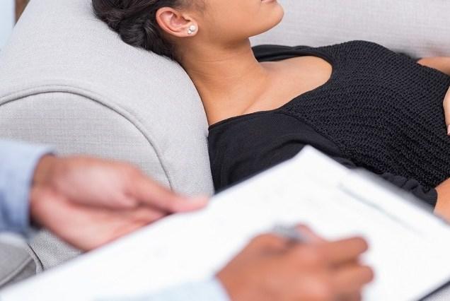 Paciente tratándose su transtorno de ansiedad