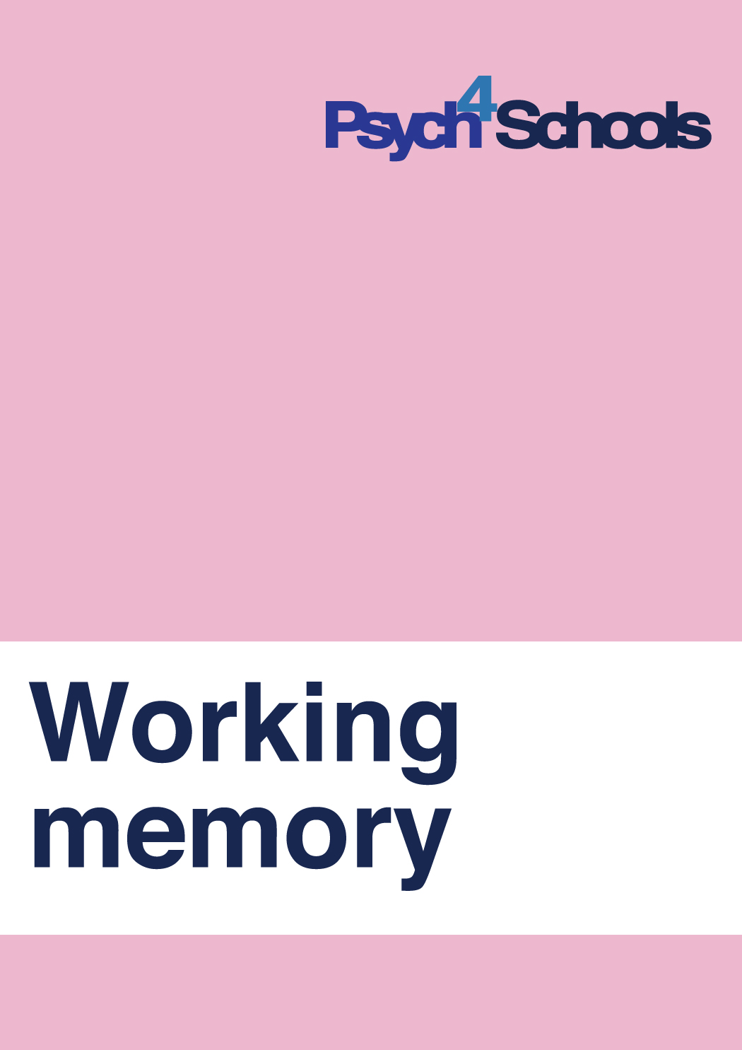 Working Memory Difficulties