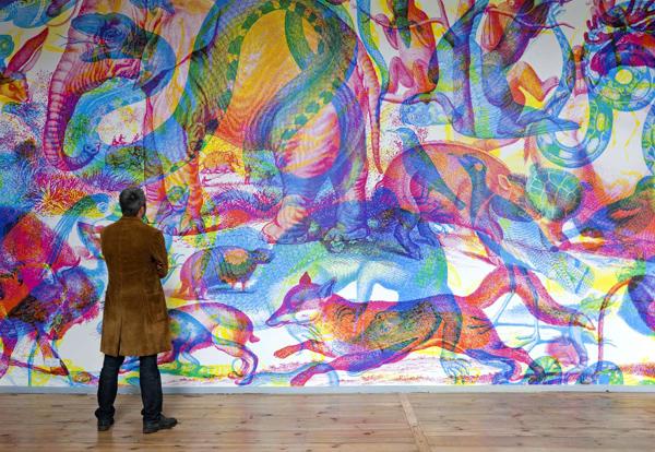 Carnovsky - RGB Animalia Wallpaper