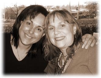 Joanne & Carmen at Beacon Hill Park - December 2006