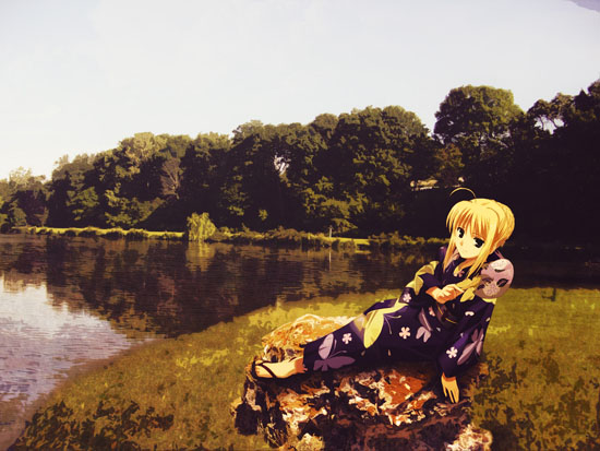 Saber by the Lake