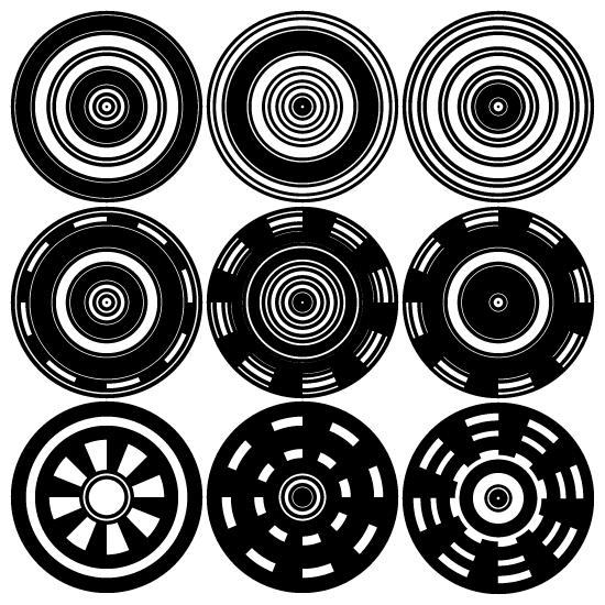 Circle Target Vectors