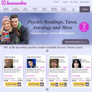 kasamba website picture