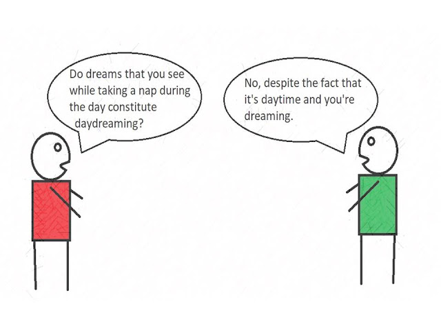 daydreaming psychology cartoon