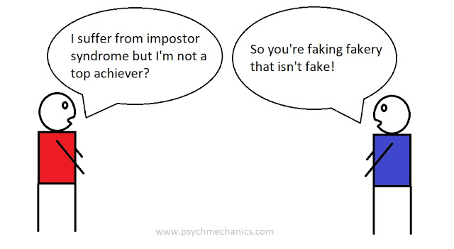 impostor syndrome funny cartoon