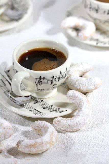 Śálka hudobnej kávy
