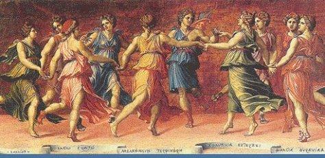 Staré Grécko hudba tanec