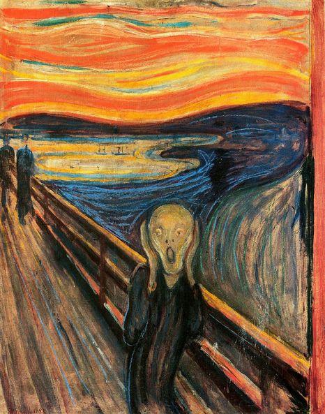 Edvard Munch: VÝKRIK (The_Scream or The Cry)
