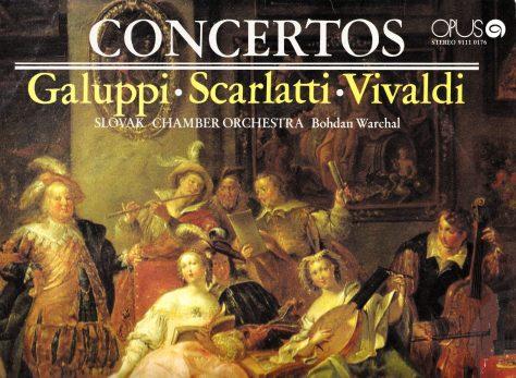 Galuppi Scarlati Vivaldi