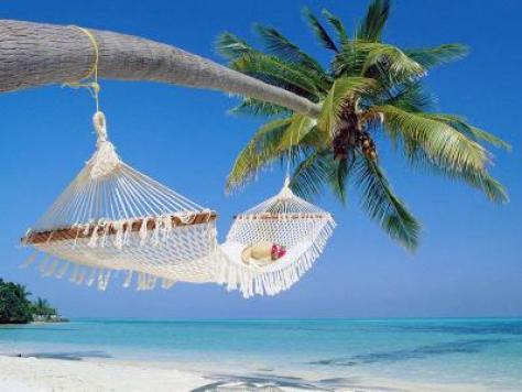 miesto siesty - pláž pri oceáne