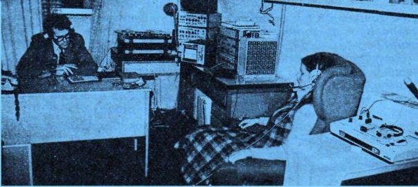 Pohľad na psychologické pracovisko Čs. rozhlasu v Bratislave (1985) počas výcviku v autogénnom tréningu