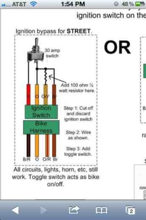 Ignition bypass