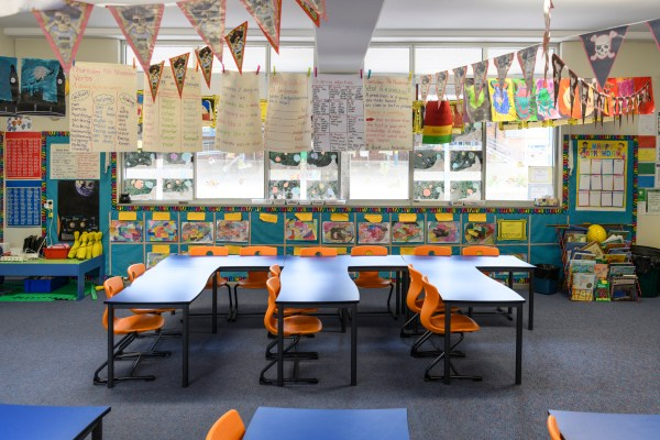 Heavily Decorated Classrooms Disrupt Attention And